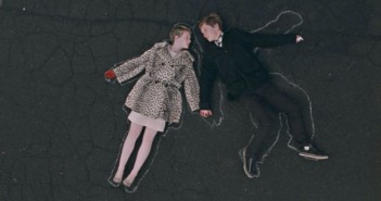Gus Van Sant Restless chalk outline of lovers
