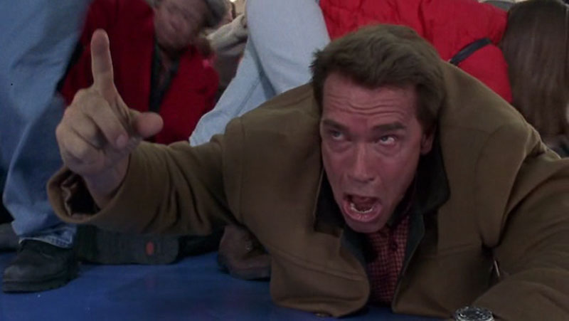 Jingle all the way arnold schwarzenegger point