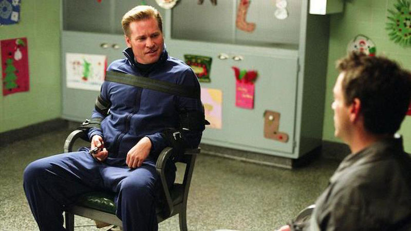 Kiss kiss bang bang val kilmer tied chair