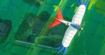 the wind rises flying