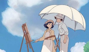 The wind rises painting