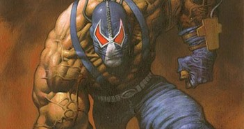bane comic book blue