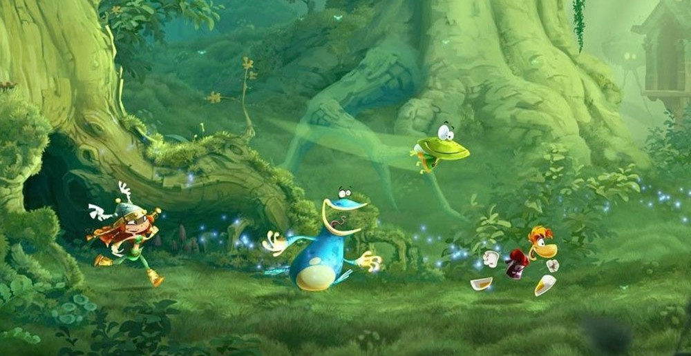 Rayman Legends forest ps3