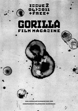 Gorilla Film Magazine issue 2 cover cell division