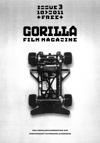 Gorilla film magazine issue 3 cover remote control car inside