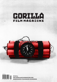 Gorilla film magazine issue 4 cover dynamite time bomb
