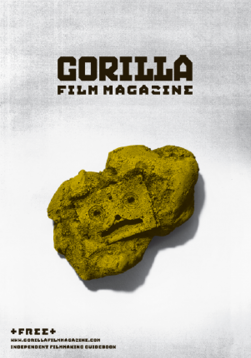 Gorilla Film Magazine 5 Cover DV Tape Fossil