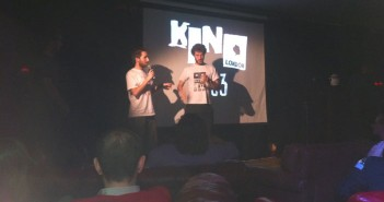 Gorilla on stage at Kino London