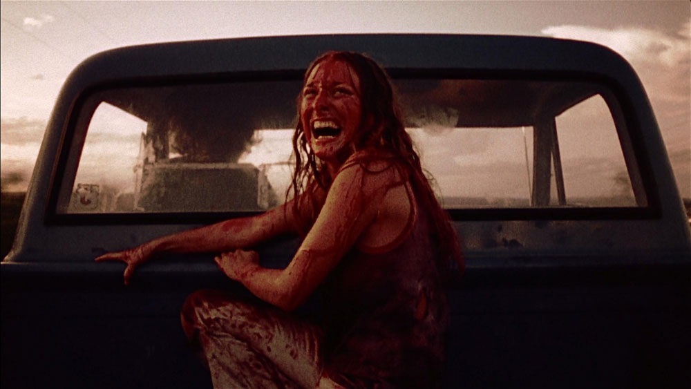 Texas chainsaw massacre car escape