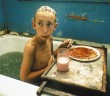 Harmony Korine Gummo 1997 boy in the bath eating spaghetti