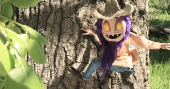 I live in the woods animated short film