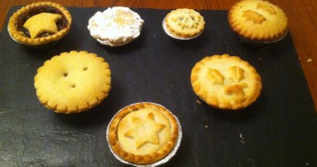 Mince pie selection board