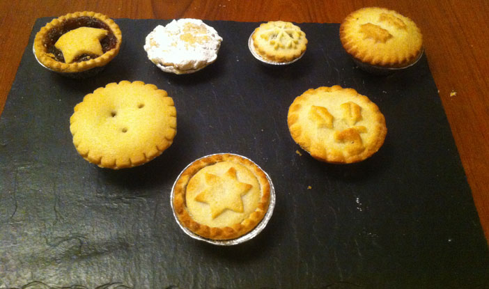 Mince pie selection 2014