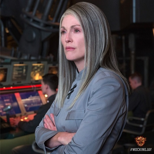 President Coin Hunger Games Julianne Moore
