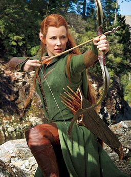 The Hobbit Tauriel Evangeline Lilly