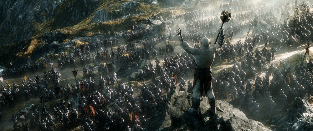 The Hobbit Battle of Five Armies Peter Jackson