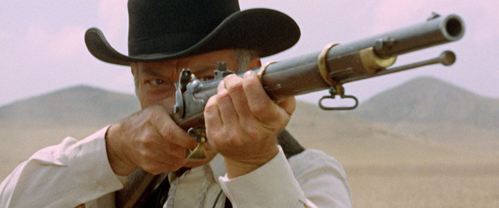 Day of Anger Lee Van Cleef with a rifle