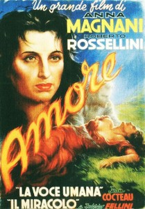 L'Amore 1952 The Miracle by Roberto Rossellini