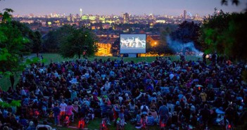telegraph hill park outdoor cinema for free film festival