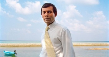 The island president Mohammed Nasheed