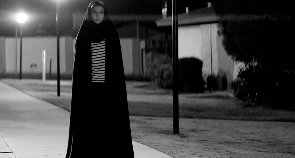 A girl walks home alone at night iranian vampire film