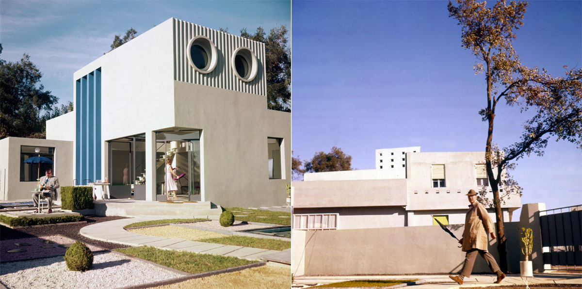Jacques Tati Mon Oncle houses 1958