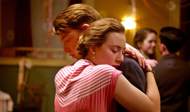 Brooklyn film 2015 Saoirse Ronan and Emory Cohen