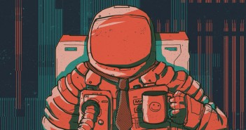 MarsCorp podcast astronaut drawing