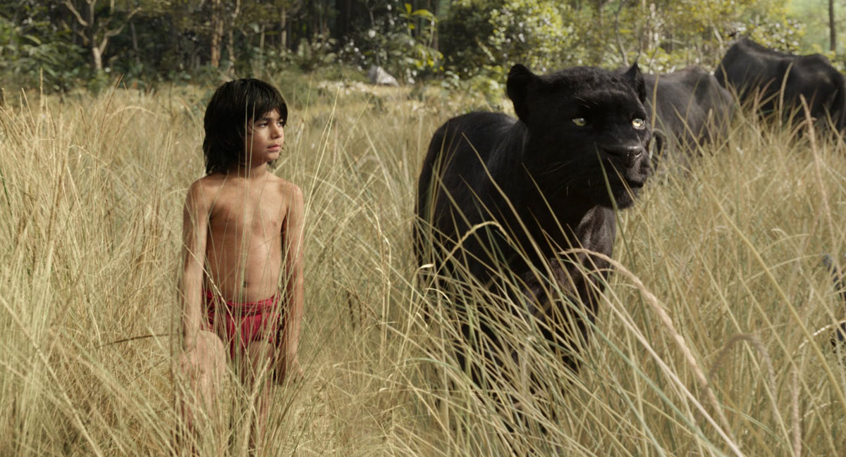The Jungle Book (2016) - Mowgli and Shere Khan