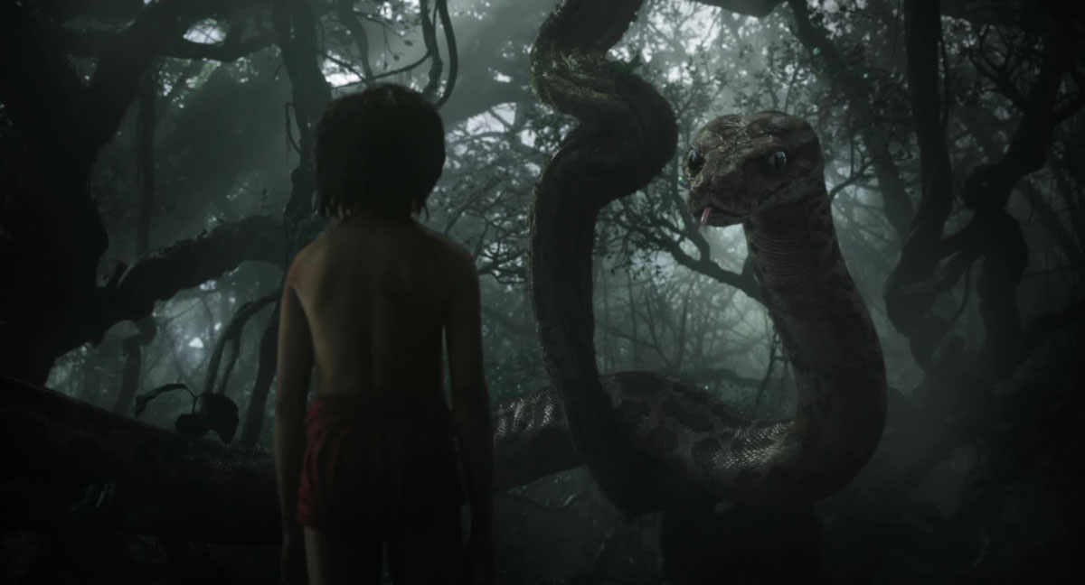 The Jungle Book (2016) - Mowgli and Kaa