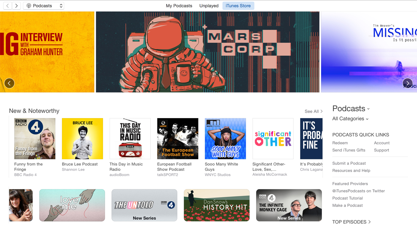 MarsCorp in the iTunes store