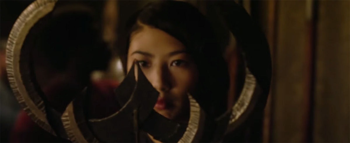 Linda Louise Duan as Tina Minoru in Dr Strange (2016)