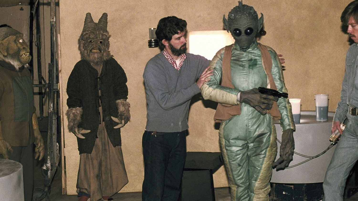 Elstree 1976 (2015) george lucas star wars set