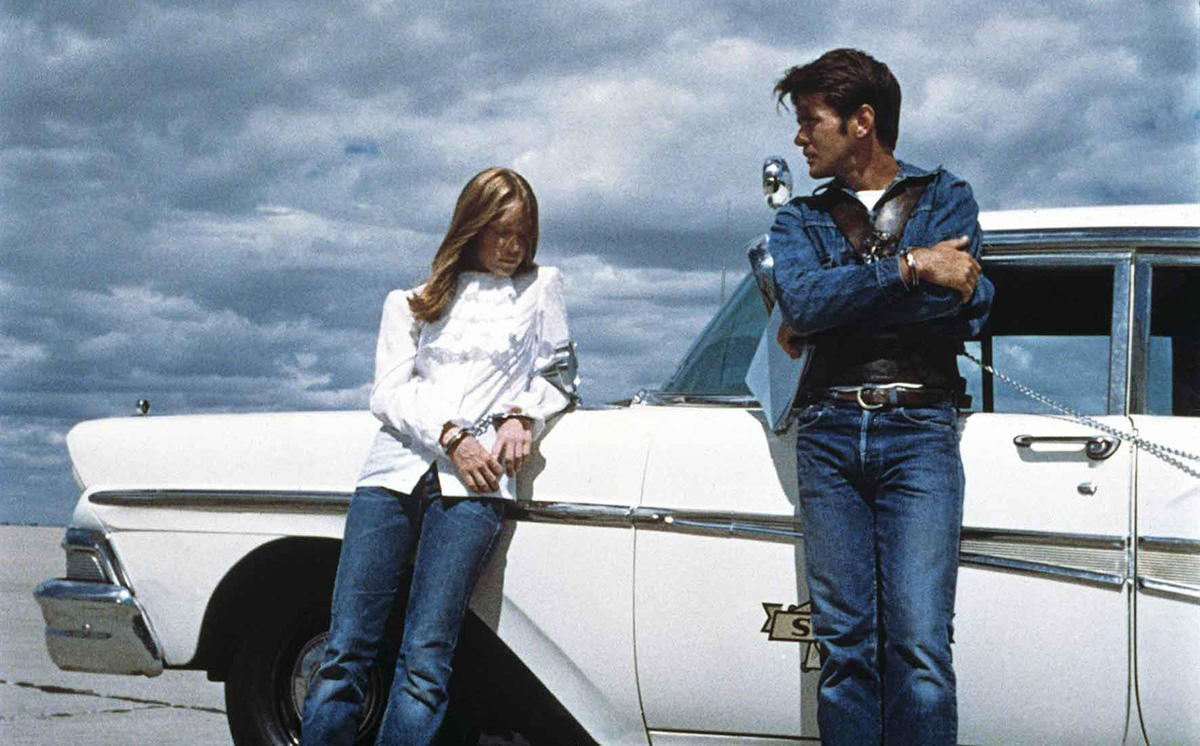 Badlands 1973 Terrence Malick Martin Sheen Sissy Spacek
