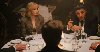 A most violent year characters sat at a dinner table